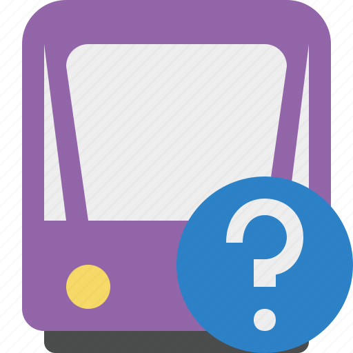 help, public, train, tram, tramway, transport icon