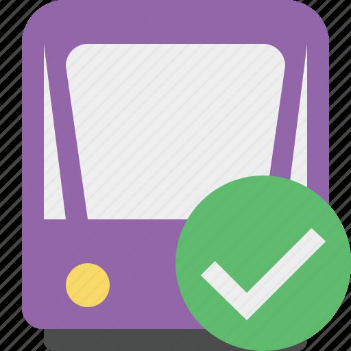 ok, public, train, tram, tramway, transport icon