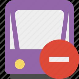 public, stop, train, tram, tramway, transport icon