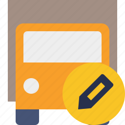 delivery, edit, transport, transportation, truck, vehicle icon