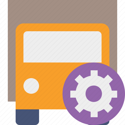 delivery, settings, transport, transportation, truck, vehicle icon