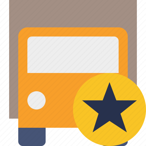 delivery, star, transport, transportation, truck, vehicle icon