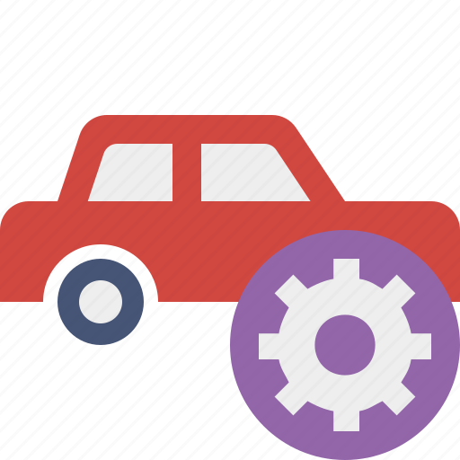auto, car, settings, traffic, transport, vehicle icon