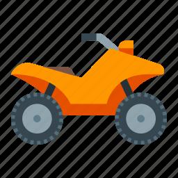 atv, off-road, quadrocycle, racing, safari, travel, vehicle icon