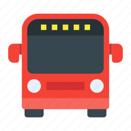 bus, public, transport, transportation, travel, vehicle icon