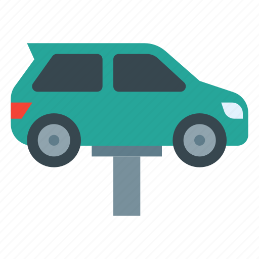 auto, automobile, car, service, servicing, vehicle icon