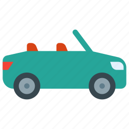 car, convertible, luxury, travel, vacation, vehicle icon