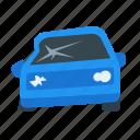 car, crashed, accident, insurance, crashed car