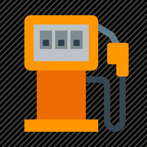 fuel, gas, gasoline, oil, petrol, station icon