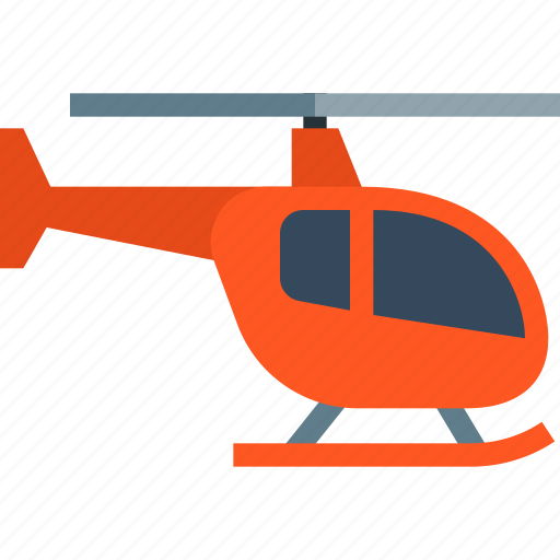 delivery, flight, helicopter, rescue, tourism, transport, travel icon