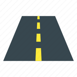 car, highway, passage, passageway, road, route, travel icon
