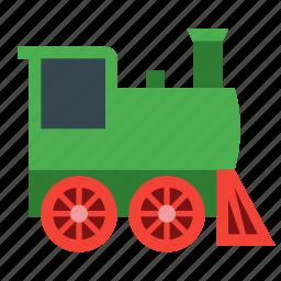 engine, locomotive, retro train, steam, train icon