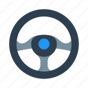 car, driving, helm, race, racing, steering, wheel icon