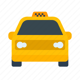 cab, car, drive, driver, taxi, transport, vehicle icon