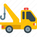 delivery, tow, truck icon