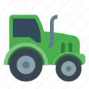 tractor, agriculture, farm, truck, vehicle, farming, plough