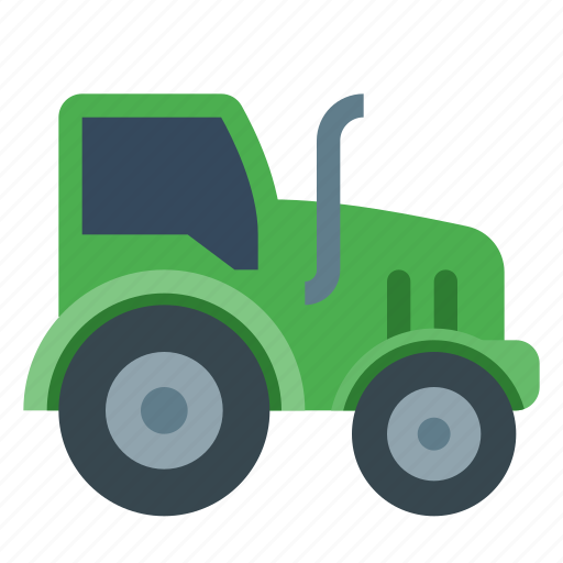 agriculture, farm, farming, plough, tractor, truck, vehicle icon