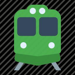 locomotive, metro, railroad, railway, subway, train, tramway icon