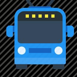 bus, public, transport, trolleybus icon