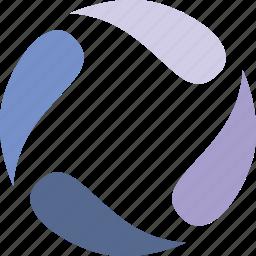 loader, model, rotare, round icon