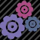 engine, gear, loader, rotate, ui icon