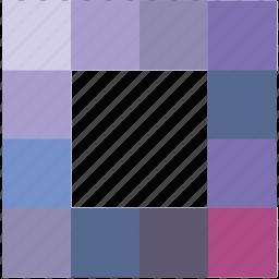 loader, model, process, square, ui icon