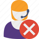 cancel, close, delete, help, support icon