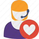 favorites, support, help, service icon