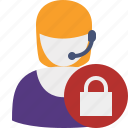 lock, support, help, service