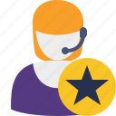 star, support, help, service icon