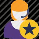 star, support, help, service