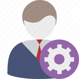 business, client, office, settings, user icon