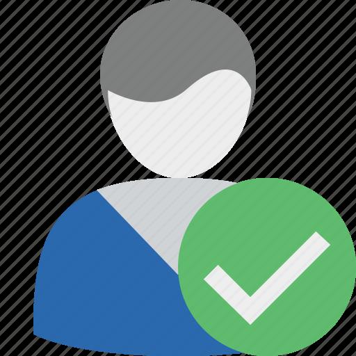account, male, ok, profile, user icon