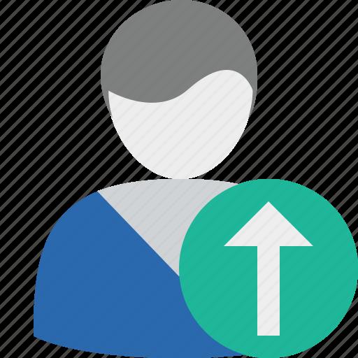 account, male, profile, upload, user icon
