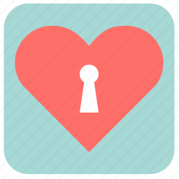 celebrate, favorite, heart, heart lock, holiday, key, like, love, protection, romantic, unlock, valentine, valentine's day icon