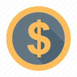 aud, cad, coin, currency, dollar, money, usd icon
