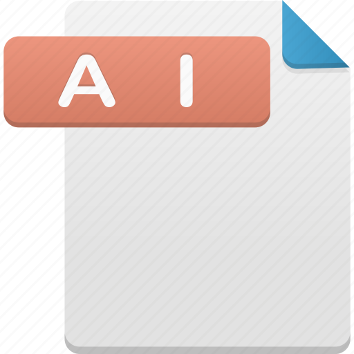 ai file, document, documents, file, files, format, paper icon