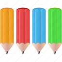 colorpencils, design, draw, pencils, tool, tools icon