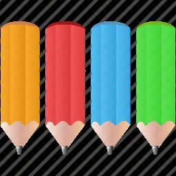 colorpencils, design, draw, pencils, tool, tools icon