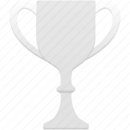 award, cup, prize, silver, trophy, winner icon