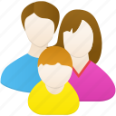 baby, family, father, home, husband, mather, wife icon