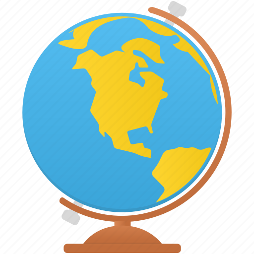 earth, globe, learn, study icon