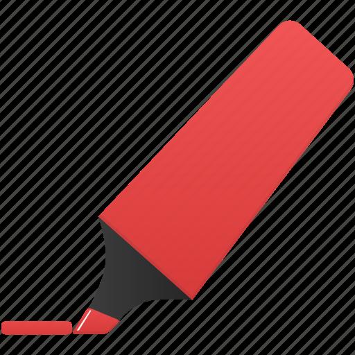 highlightmarker, mark, marker, red icon