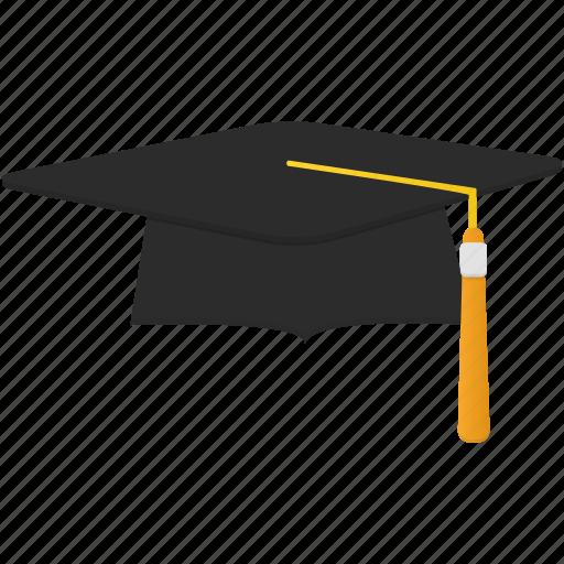 cap, graduate, students, studernt, trencher icon