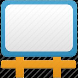 billboard, board, education, learning, school, study, training icon