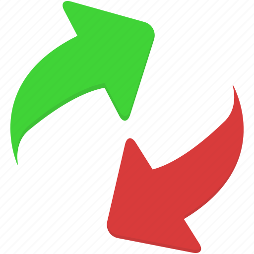 arrow, arrows, order, refresh icon