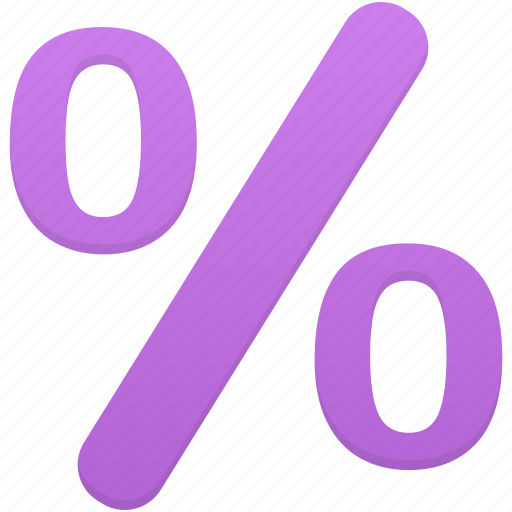 discount, finance, financial, percent, sale icon
