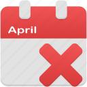 calendar, date, event, plan, remove, schedule icon