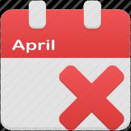 calendar, date, event, plan, remove, schedule icon