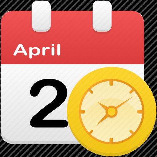 alarm, calendar, clock, event, plan, schedule icon